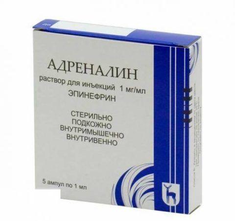 Адреналин (1%)