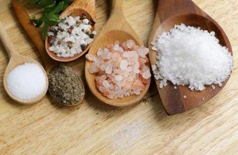 Блюда с высоким содержанием соли
