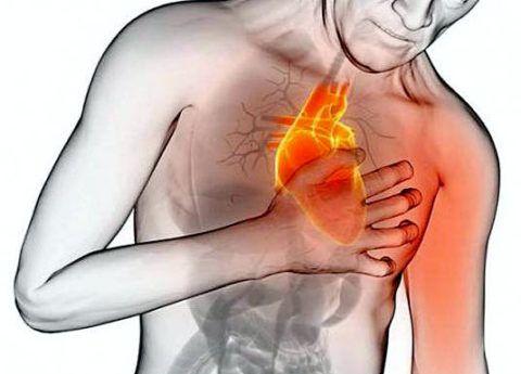 Главным клиническим признаком является неритмичное или учащенное биение сердца