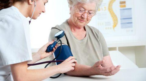 Измерение давления в плечевой артерии
