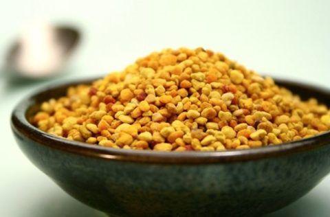 На фото цветочная пыльца