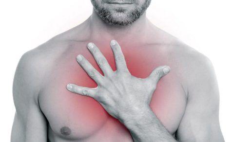 Ощущение сдавливания в груди