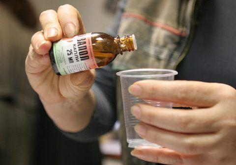При АД 125/95 рекомендуется выпить несколько капель Корвалола
