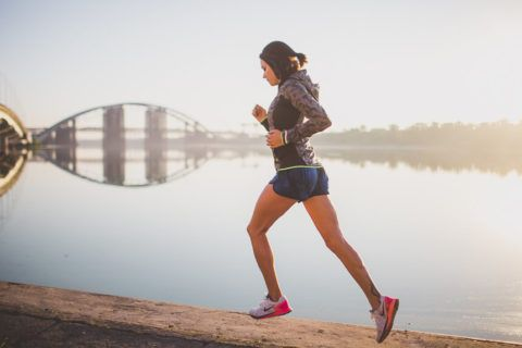 Пробежки в умеренном темпе