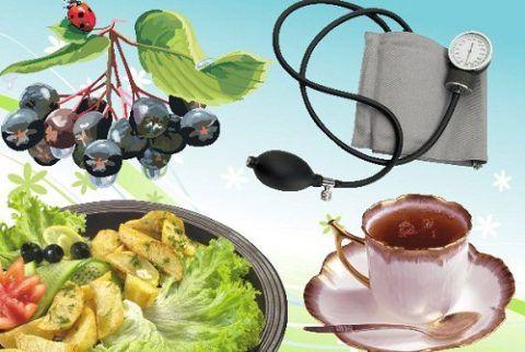Рацион гипертоника должен быть обогащен растительными продуктами