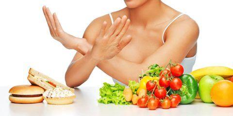 Сбалансированное питание – залог в лечении болезни.