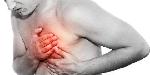 Сдавливающая боль в груди признак патологии.