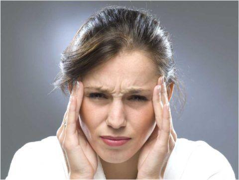 Типичный приступ головной боли