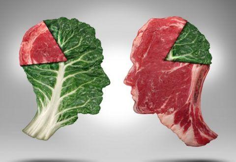 Уменьшение употребления мяса