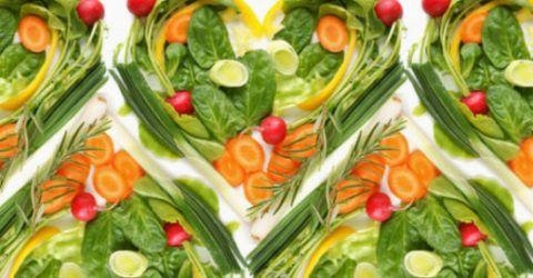 Включение в рацион вегетарианских блюд