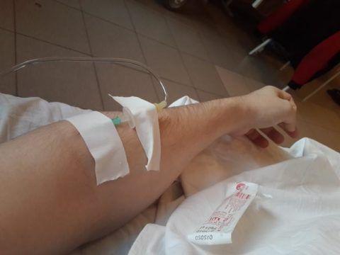 Введение лекарства внутривенно