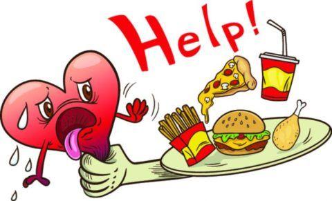 Лишний вес провоцирует возникновение инфаркта.
