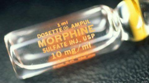 Морфин – препарат выбора при обезболивании инфаркта миокарда.