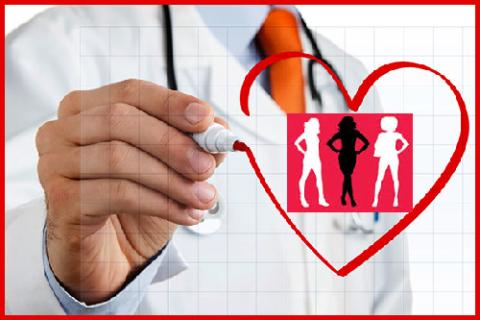 Сердечная болезнь является одной из главных причин смерти у 1 из 3 взрослых женщин