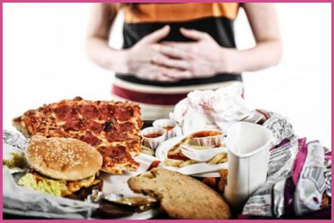 Сердечный приступ может вызвать банальное переедание