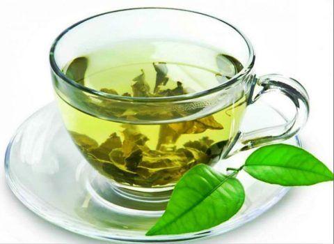 Зеленый чай богат антиоксидантами.