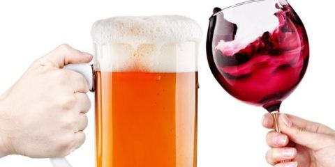 Злоупотребление алкоголем, как одна из причин ВСД