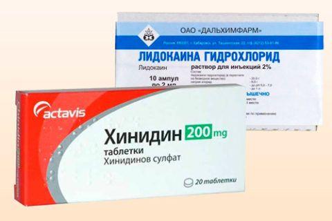 Блокаторы натриевых каналов при тахикардии