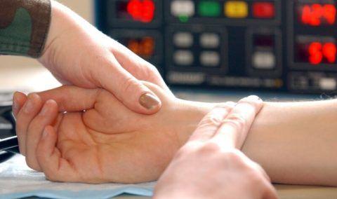Диагностика ЧСС на запястье руки