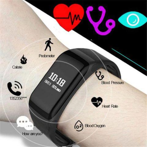 Умные часы с пульсометром и с сенсорным и монитором сердечного ритма