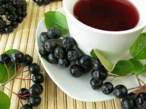 Чай из черной рябины