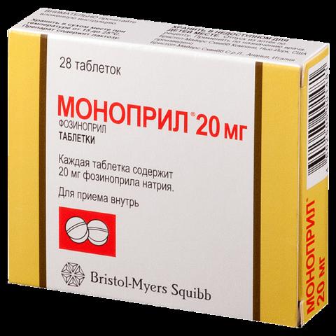 Моноприл - один из самых популярных препаратов в своей группе