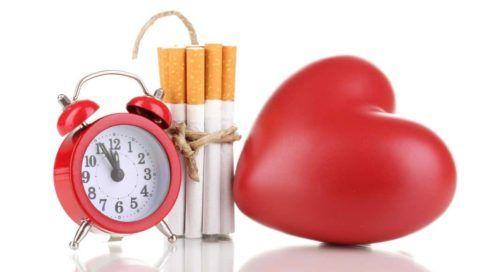 Сигареты – первопричина проблем с сердцем