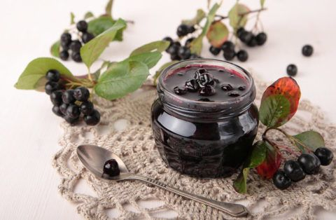 Варенье из ягод аронии