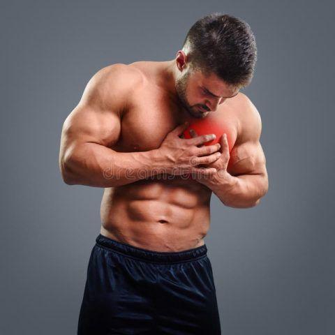 Боль в груди сопровождает все сердечные заболевания.