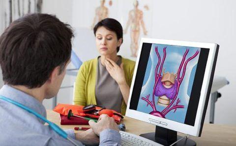 Давление 130 на 60 может возникать при патологиях щитовидки