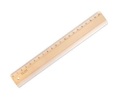 Для проведения измерений по этому методу потребуется линейка в 20 см