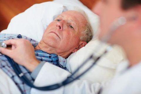 Хроническая форма СЛН присуща пациентам преклонного возраста, ее развитие отмечается на фоне имеющихся сопутствующих патологий.