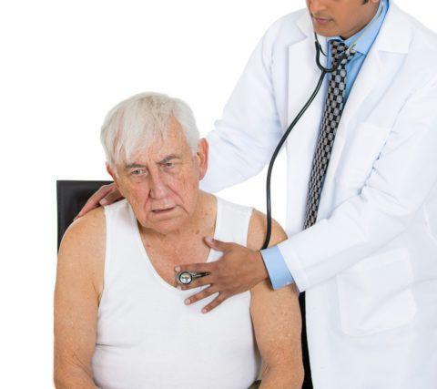 Практически у каждого пациента с СН имеется одышка