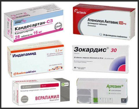 Препараты от гипертонии