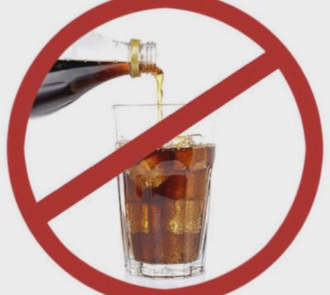 Рекомендуется полностью отказаться от вредных напитков