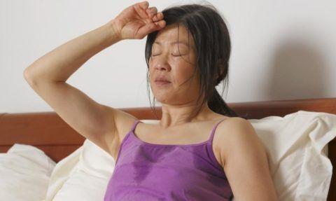 Выделение липкого пота в совокупности с одышкой и болью в груди говорит о приступе острой СЛН.