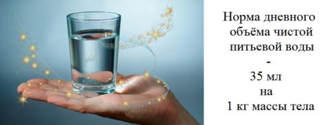 Частая причина гипотонии, остающаяся без внимания – постоянная нехватка воды