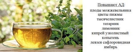 В течения дня пейте чай – 1 ст. л. из 4 видов растений на 250 мл, запаривать 15 минут