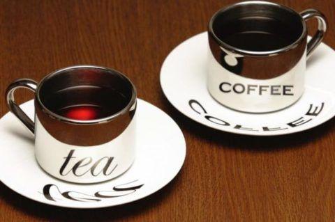 Чай и кофе могут влиять на давление, но это все строго индивидуально