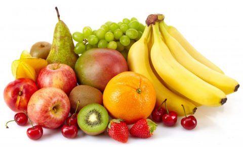 Фрукты выводят из организма жиры
