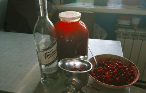 Сок на водке