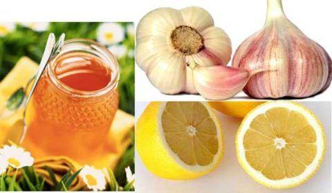 Эликсир с лимоном и чесноком