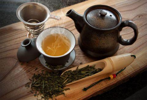 Керамическая посуда для качественной заварки зеленого чая