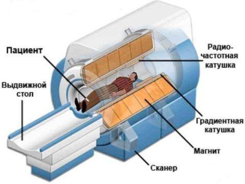 Принцип устройства томографа
