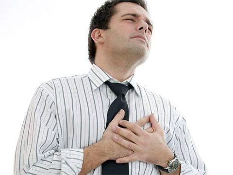 Резкий дискомфорт в груди