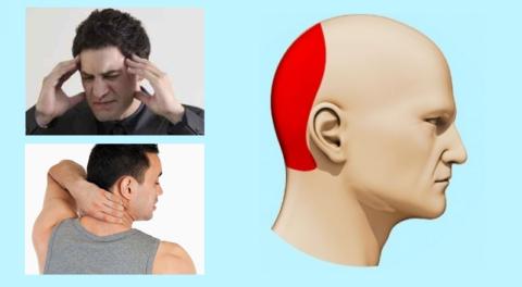 Как правило, при повышении АД болят не виски или шея, а сильно ломит затылок