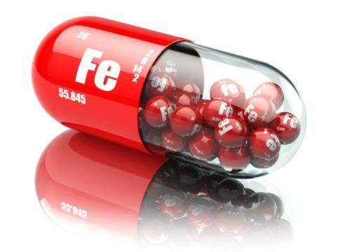 Лекарства с двухвалентным железом являются наиболее эффективными