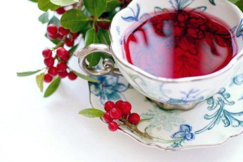 Отвар ягод боярышника