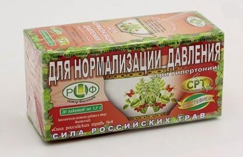 Снизить повышенное АД поможет курс фито-чая №4