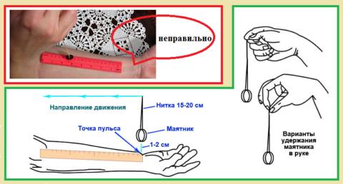 Для «самодельного тонометра» нужны линейка, нитка и обручальное кольцо (без камней)